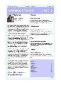 """""""Service zum Selbermachen"""" – Aktuelle Ausgabe des Newsletter SERVICE TRENDS jetzt erhältlich"""