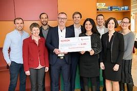 Gilead Mitarbeiter unterstützen Ronald McDonald Kinderhilfe mit Spende