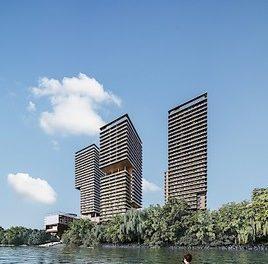TRIIIPLE: OTTO Immobilien erhält Auftrag zur Vermarktung von rund 250 Wohnungen in Turm I und II