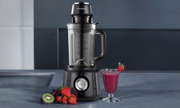 Zeit für Eis, Shake, Smoothie & Co: Mit dem neuen Vakuum Standmixer von Grundig