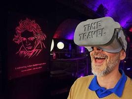Time Travel Erlebniswelt freut sich über neu überarbeitete Szene – Virtual Reality (VR) Music Ride mit Mozart & Falco