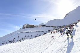 Sonnenskilauf in St. Anton am Arlberg bis 28. April 2019