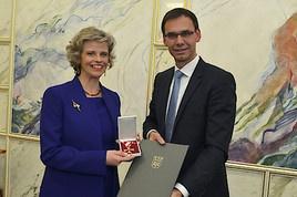 Großes Verdienstzeichen des Landes Vorarlberg für Sabine Haag