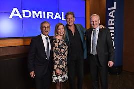 ADMIRAL präsentiert David Hasselhoff als neuen Markenbotschafter