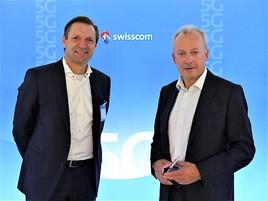 Swisscom und Ericsson starten erstes kommerzielles 5G-Netz in Europa (FOTO)