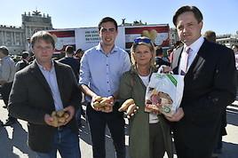 Aktionstag für gesunde Lebensmittel von NÖ Bauernbund und IGE erreichte tausende Konsumenten in Wien