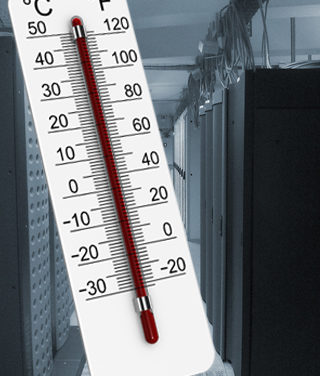 Temperaturüberwachung mit Netzwerk Monitoring System 50