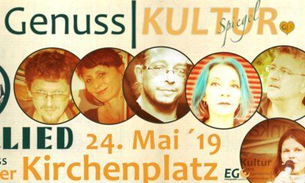 GenussSpiegel präsentiert: GenussKULTUR am Atzgersdorfer Kirchenplatz – Das Neue Wienerlied – EINTRITT FREI