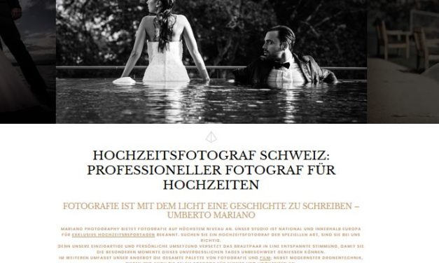 Umberto Mariano: professioneller Hochzeitsfotograf