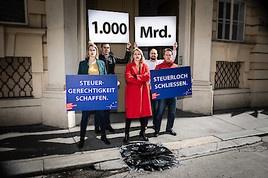 EU-KandidatInnen der sozialdemokratischen GewerkschafterInnen: Steuerloch in Europa schließen