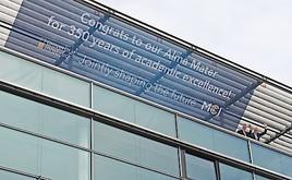 """MCI gratuliert der Universität Innsbruck zu """"350 Jahren akademischer Exzellenz"""""""