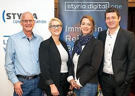Großes Kino für digitale Werbung zum Frühstück: Breakfast Session von styria digital one und Styria Content Creation in Wien
