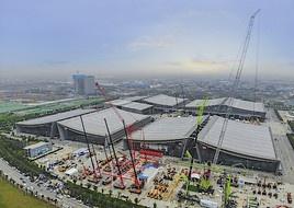 Globale Giganten der Baumaschinenindustrie treffen sich in Changsha, um neue Entwicklungsmöglichkeiten zu finden (FOTO)