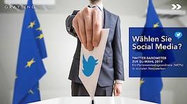 Twitter-Barometer zur EU-Wahl 2019 von Grayling und OBSERVER
