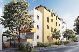 Grundsteinlegung zum Wohnheim Payerbach