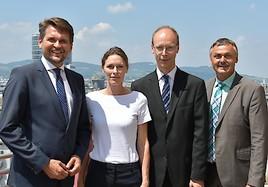 Management der SVS heute vom Überleitungsausschuss bestellt: Hans Aubauer wird Generaldirektor.