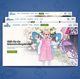 Neuer Webauftritt für die Schmetterlingskinder