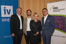 """IV-Wien und IMBA: """"Industrie & Spitzenforschung im Dialog"""""""