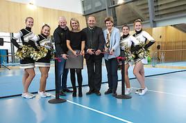 Neue Cheerleaderhalle im Tivoli Stadion feierlich eröffnet