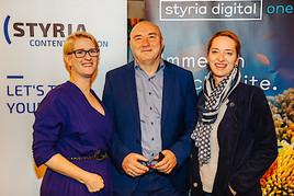 One Jump Ahead mit styria digital one, Styria Content Creation und Take Off PR in Linz