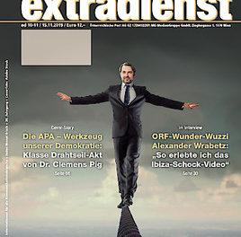 ExtraDienst 10-11/2019 – Die APA – Werkzeug unserer Demokratie