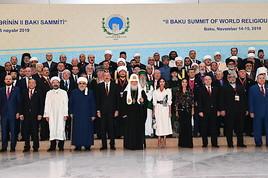 Das II. Bakuer Gipfeltreffen der Weltreligionsführer