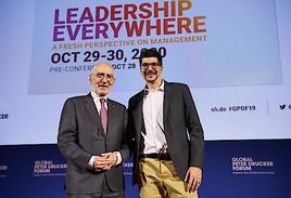 """""""Mangelware Führungsqualität"""": 12. Peter Drucker Forum 2020 zum Thema """"Leadership"""" angekündigt"""