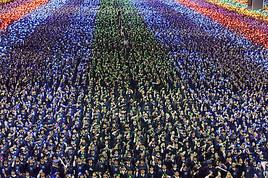 Größter Bibelabschluss der Welt in Südkorea von Shincheonji Kirche Jesu gehalten