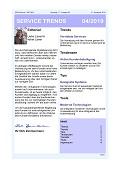 """""""Service in Verbindung"""" – Aktuelle Ausgabe des Newsletter SERVICE TRENDS jetzt erhältlich"""