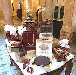 Das Pop-Up-Café Sacher Genf