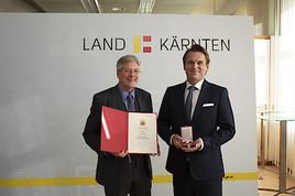 Ehrenzeichen des Landes Kärnten an SPA-Experten Harald Kitz verliehen