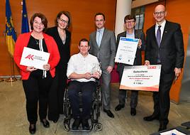 """AUVA-""""Back to Life""""-Award Niederösterreich für Jürgen Scheiner aus Gnadendorf/Mistelbach"""