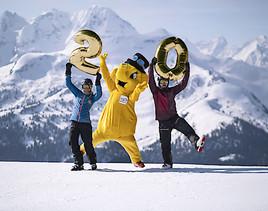 Gelbes Rüsseltier sorgt für 20 Jahre Spaß im Schnee