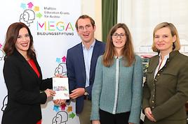 MEGA Bildungsstiftung startet Projektförderung: 1,4 Millionen Euro für Talente