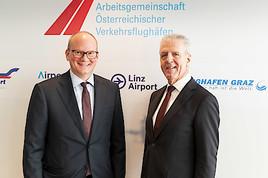 Österreichische Flughäfen reduzieren ihre CO2-Emissionen bis 2050 auf Null