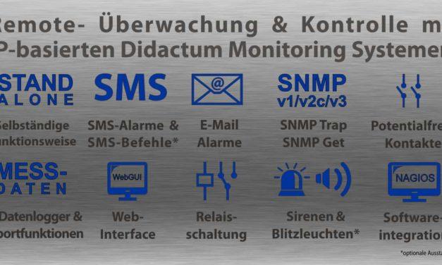 Datenlogger für die Aufzeichnung und Überwachung der Temperatur