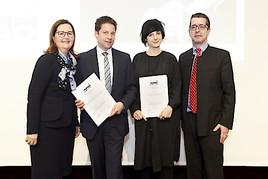 Eduard-Hartmann-Preis an Eva Konzett und Wolfgang Dürnberger