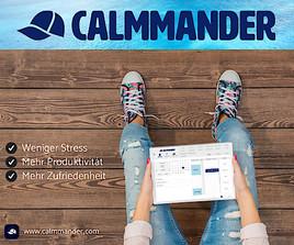 CALMMANDER: Die weltweit 1. integrierte Management- und Coaching-App