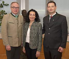 Ungersböck stärkt ländlichen Raum im Landtag
