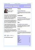 """""""Service über Social Media"""" – Aktuelle Ausgabe des Newsletter SERVICE TRENDS jetzt erhältlich"""