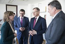 Erster Gesprächstermin mit Klimaschutzministerin Gewessler