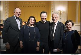 Bundespräsident Alexander van der Bellen und Kulturstadträtin Veronica Kaup-Hasler bei inklusivem Konzert im Wiener Konzerthaus