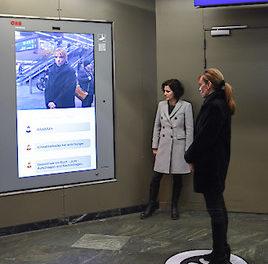 Brokkoli Advertising Network, Weißer Ring und ÖBB kämpfen mit interaktiver Kampagne gegen Cyber-Bullying.