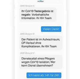 """Gratis SMS-Service für österreichische Krankenhäuser bei """"Corona-Kommunikation"""""""