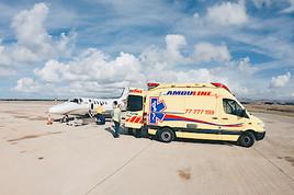 Im Schatten des Virus: Tyrol Air Ambulance holt Erkrankte und Verletzte aus aller Welt zurück