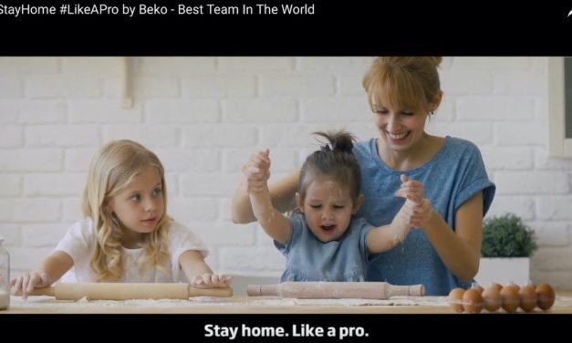 """Beko unterstützt mit """"Health Professionals Support Movement"""" das beste Team der Welt"""