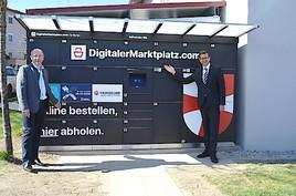 St. Florian mit innovativer Übergabestation für kontaktfreie Warenversorgung