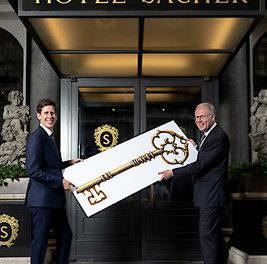 HOTEL SACHER WIEN MIT NEUEM HOTELDIREKTOR