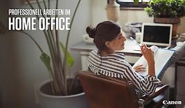 Mit Canon professionell und sicher im Home Office