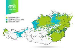 Digitalradio Österreich: Erfolgreicher Abschluss der dritten Netzausbaustufe im Burgenland und der Steiermark